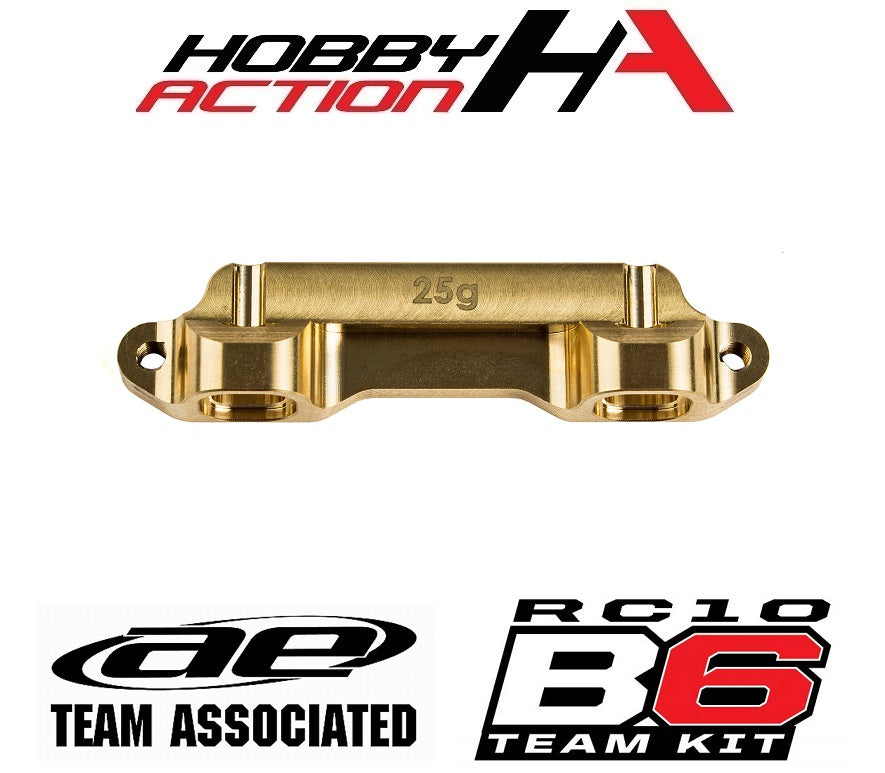 Team Associated B6 Brass Arm Mount C, 25g ASC91690