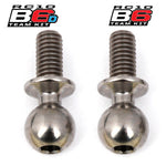 Team Associated B6 Factory Team Heavy Duty 4mm Titanium Ball Stud Set (2) ASC91750
