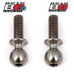 Team Associated B6 Factory Team Heavy Duty 8mm Titanium Ball Stud Set (2) ASC91752