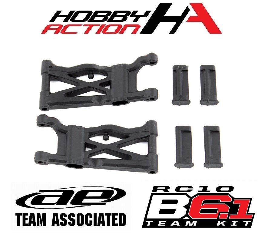 Team Associated B6.1 B6.1D Rear Suspension Arms Hard ASC91778