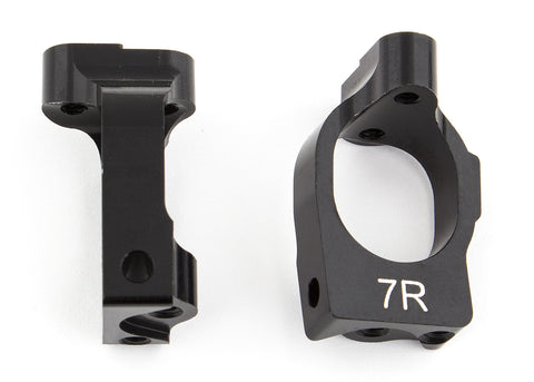 Team Associated B64 Aluminum Caster Blocks 7 deg. ASC92028