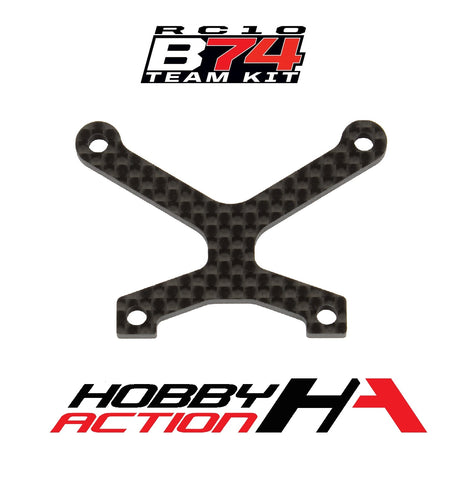 Team Associated RC10 B74 Carbon Top Plate ASC92116
