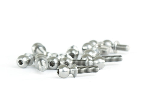 Avid RC Team Associated AE B64 Titanium Ball Stud Kit AV1027-55-TI-B64