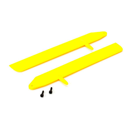 ** BLH3715YE Blade Fast Flight Main Rotor Blade Set Yellow 130 X