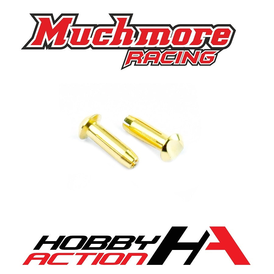 Muchmore Racing LCG Euro Connector (4mm) Male 2pcs CE-LCGC