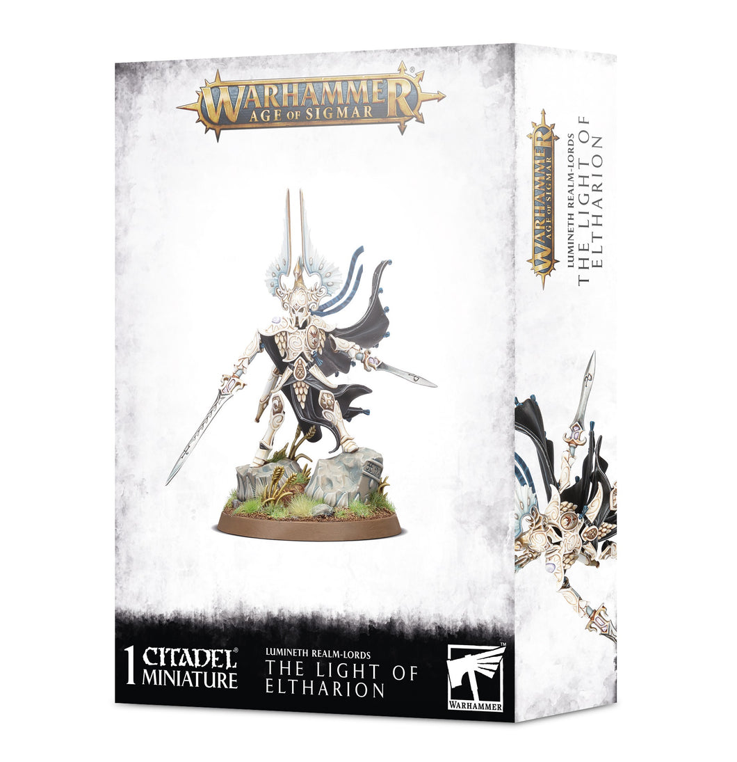 Games Workshop Warhammer Age of Sigmar: Lumineth Realm-Lords - The Light of Eltharion 87-57