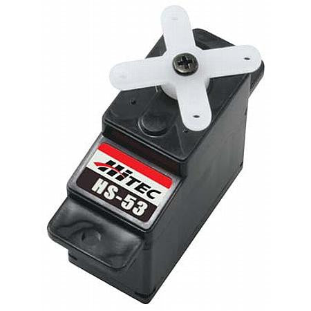 Hitec HS-53 Budget Feather Servo HRCM1053