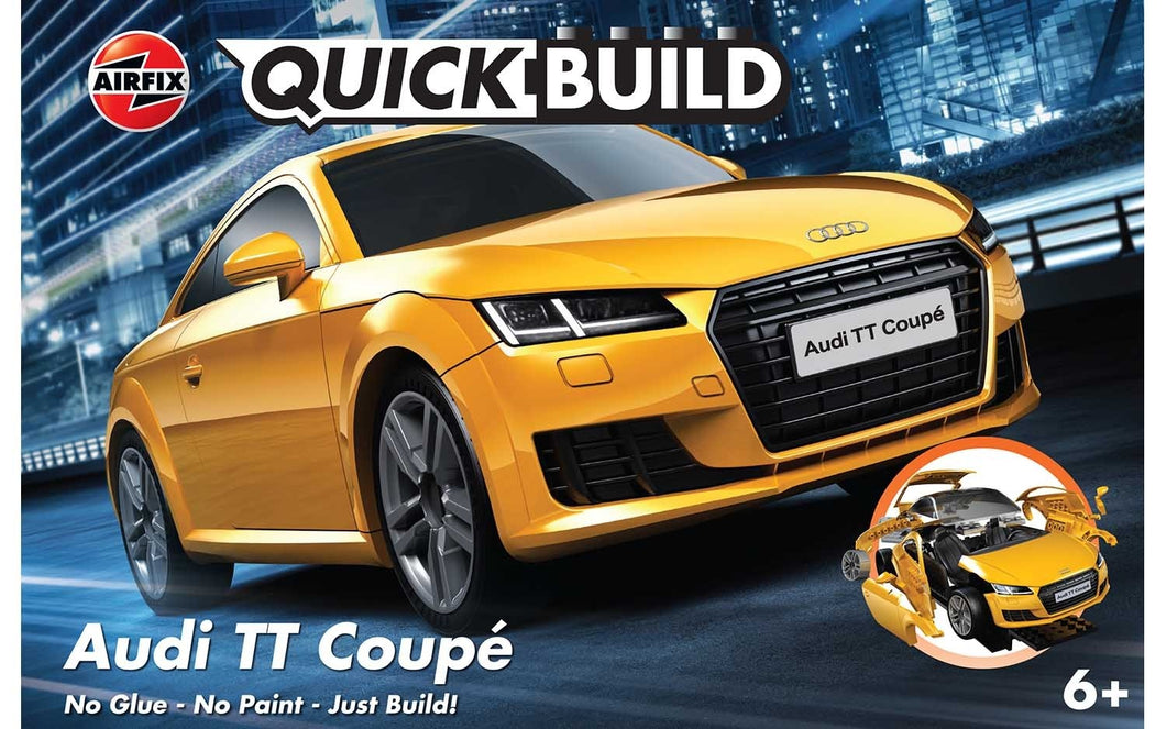 Airfix QUICK BUILD Audi TT Coupe J6034