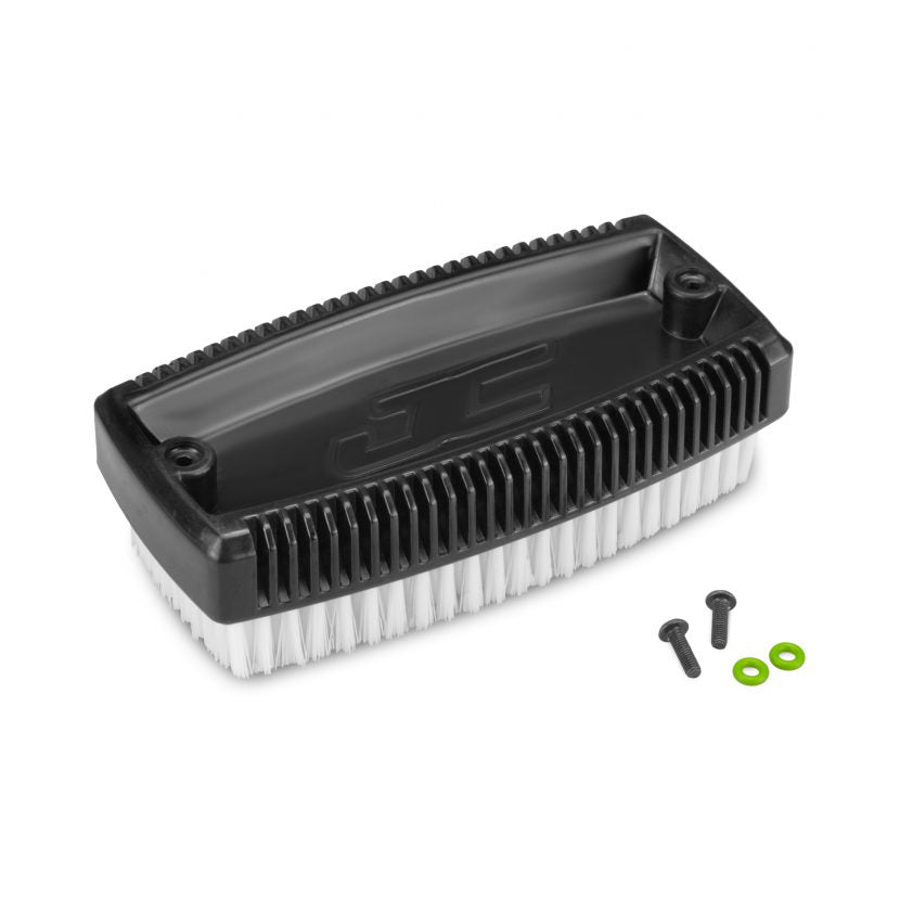 JConcepts Tire Wash Brush w/Mounting Screws Black JCO2498-2