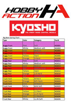 Load image into Gallery viewer, Kyosho Big Bore Rear Shock Spring Red/Medium Hard KYO XGS014