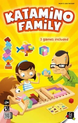 Katamino Family - Wooden Strategy Game by Gigamic