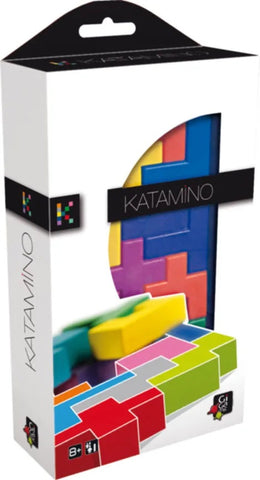Katamino Pocket - Wooden Strategy Game by Gigamic