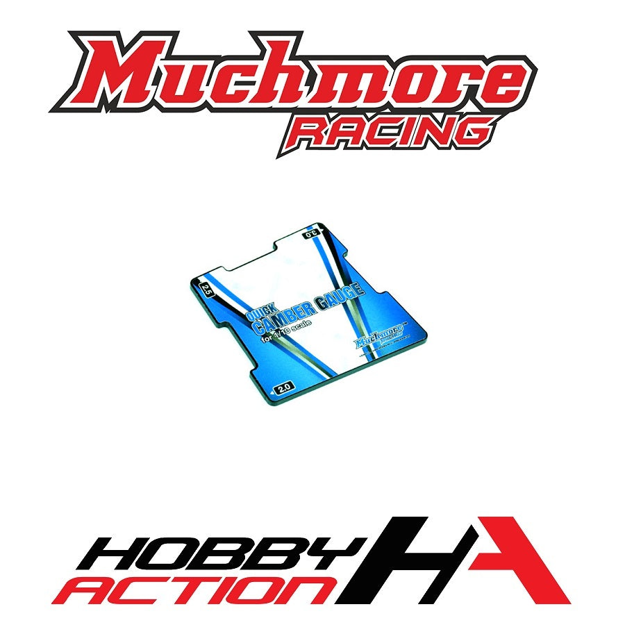 Muchmore Racing Quick Camber Gauge 2.0,2.5,3.0 for 1/10 MR-CGS2