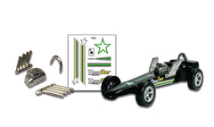 PineCar #P331 Drag Star Custom Parts With Decals