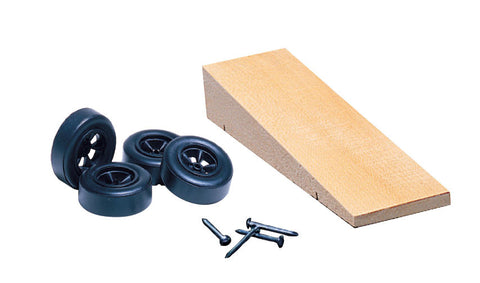 PineCar #P369 Wedge Kit Car Blocks  wheels axles