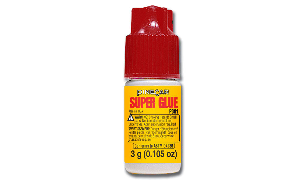 PineCar #P381 Super Glue CA Adhesive