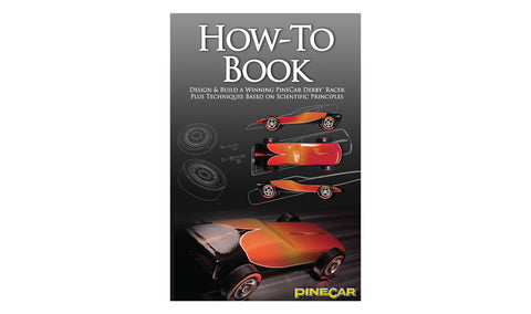 PineCar #P383 How-To Book Building Pinewood Derby