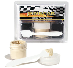 PineCar #P3928 Body Putty Filler Tools and Adhesives
