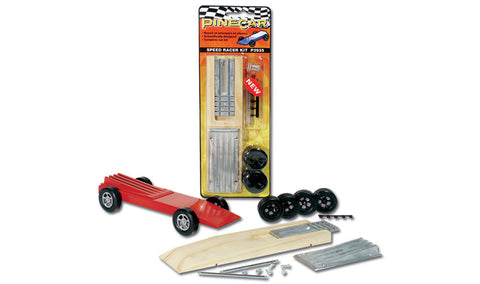 PineCar #P3935 Speed Racer Kit Car Blocks and Kits
