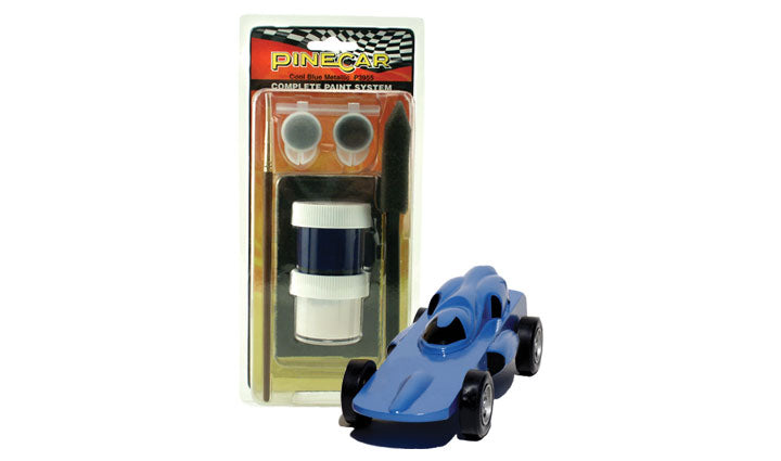 PineCar #P3955 Complete Paint System Cool Blue