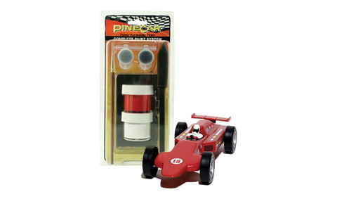 PineCar #P3957 Complete Paint System Flamin' Red