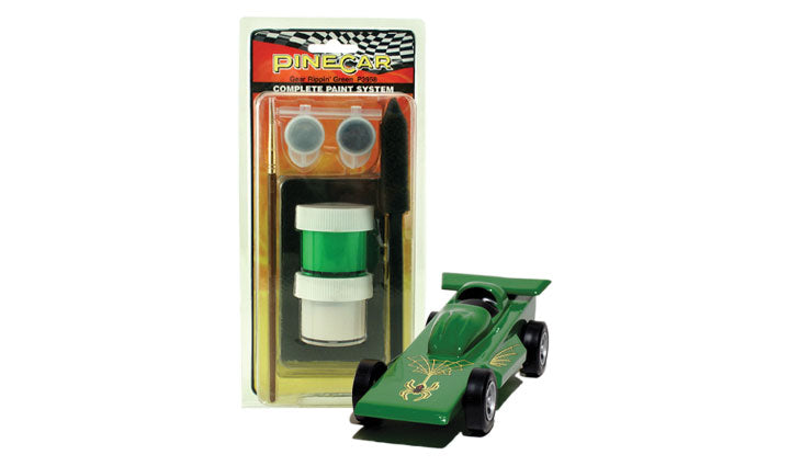 PineCar #P3958 Complete Paint System Gear Rippin' Green