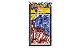 PineCar #P3980 Freedom Flag Custom Body Skin Wrap American Flag