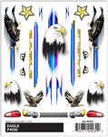 PineCar #P4030 Eagle Dry Transfer Decals