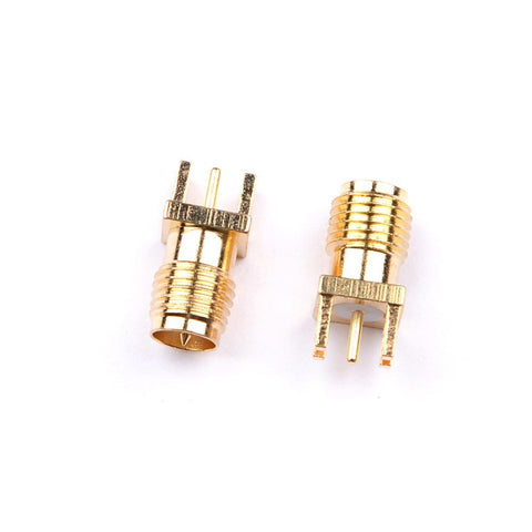 2pcs PCB Edge Mount Solder 0.062'' Adapter Connector SMA