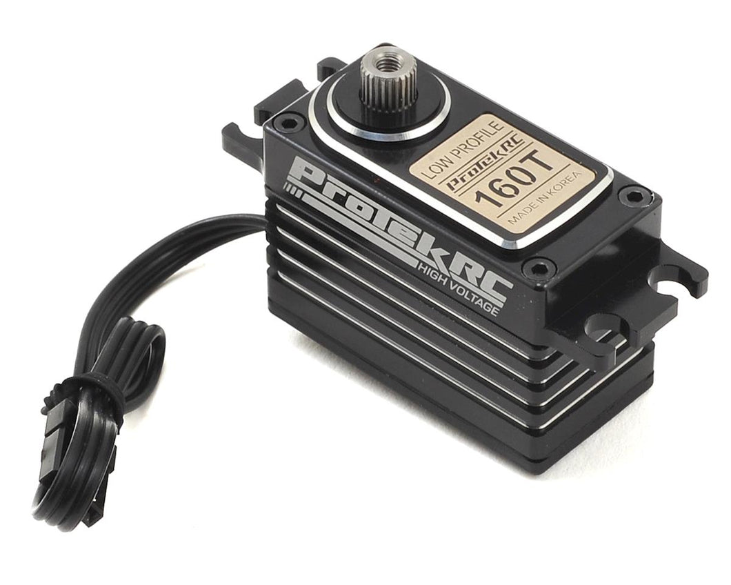 ProTek RC 160SS Low Profile Super Speed Metal Gear Servo High Voltage Metal Case PTK-160SS