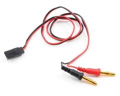 ProTek RC Receiver Charge Lead Futaba Female to 4mm Banana Plugs PTK-5213