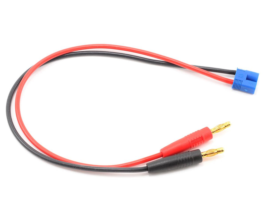 ProTek RC Heavy Duty EC3 Style Charge Lead to 4mm Banana Plugs PTK-5231