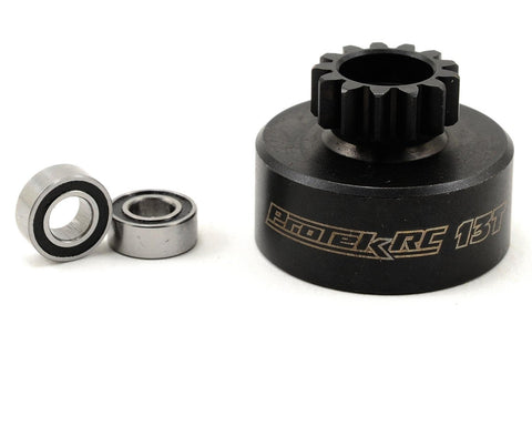 ProTek RC Hardened Clutch Bell w/Bearings 13T Kyosho AE RC8B3 PTK-7000