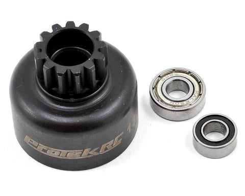 ProTek RC Hardened Clutch Bell w/Bearings (13T) Losi 8IGHT PTK-7060