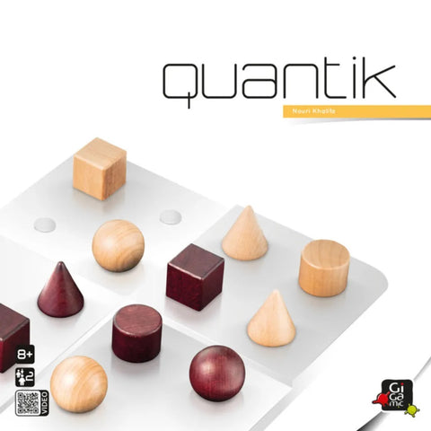 Quantik - Wooden Strategy Game by Gigamic