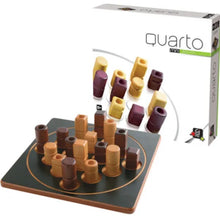 Load image into Gallery viewer, Quatro Mini - Wooden Strategy Game by Gigamic