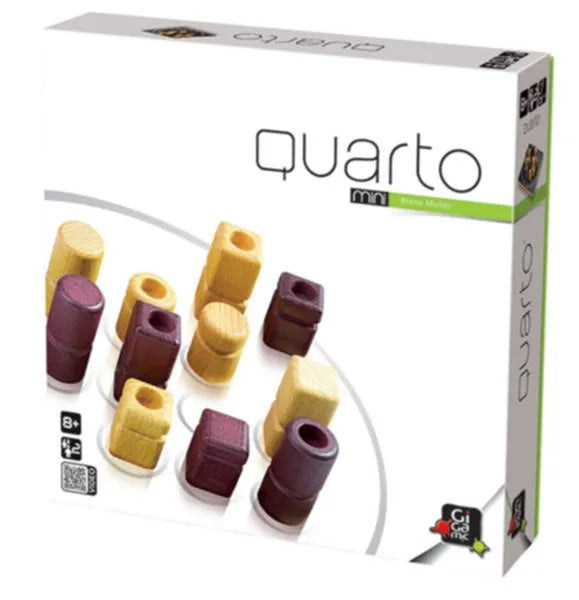 Quatro Mini - Wooden Strategy Game by Gigamic