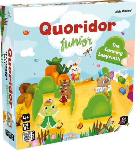 Quoridor Junior - Wooden Strategy Game by Gigamic