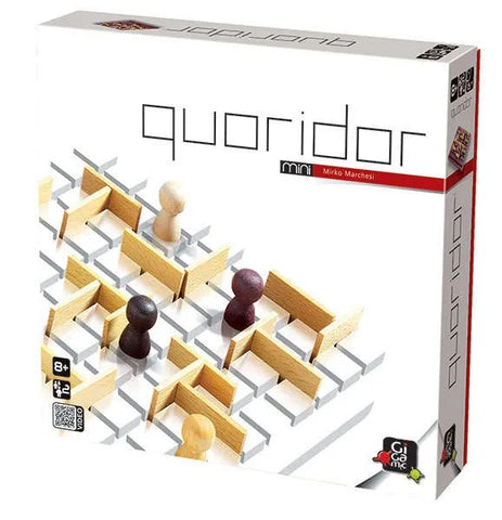 Quoridor Mini - Wooden Strategy Game by Gigamic