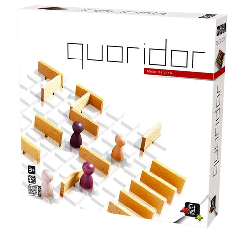 Quoridor - Wooden Strategy Game by Gigamic