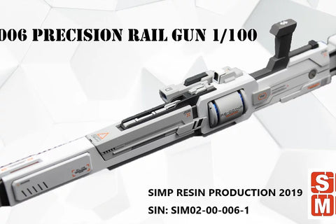 SIMP Model Gundam W006 resin weapon kit Precision Railgun