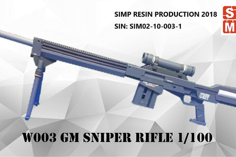 SIMP Model Gundam W003 resin weapon GM Sniper Rifle MG/HG/NG