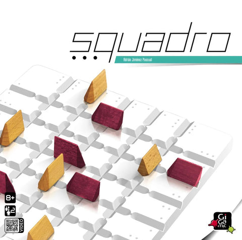 Squadro - Wooden Strategy Game by Gigamic