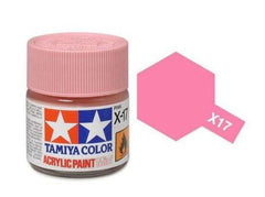 Tamiya X-17 Gloss Pink Acrylic Paint Mini 10ml (1/3oz) TAM81517