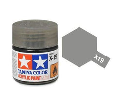 Tamiya X-19 Gloss Smoke Acrylic Paint Mini 10ml (1/3oz) TAM81519