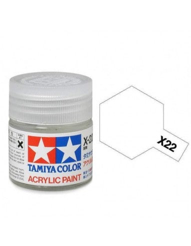 Tamiya X-22 Clear Acrylic Paint Mini 10ml (1/3oz) TAM81522