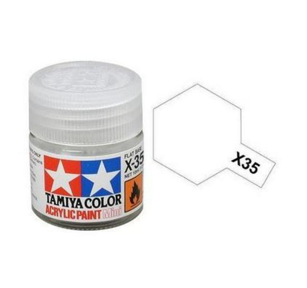 Tamiya X-35 Semi Gloss Clear Acrylic Paint Mini 10ml (1/3oz) TAM81535
