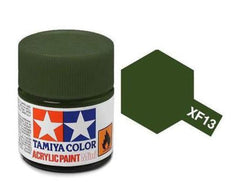 Tamiya XF-13 Flat J. A. Green Acrylic Paint Mini 10ml (1/3oz) TAM81713