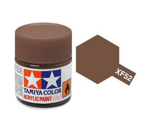 Tamiya XF-52 Flat Earth Acrylic Paint Mini 10ml (1/3oz) TAM81752