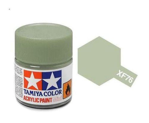 Tamiya XF-76 Flat IJN Gray Green Acrylic Paint Mini 10ml (1/3oz) TAM81776